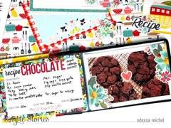 Cookie Recipe Mini Album