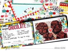Cookie Recipe Mini Album