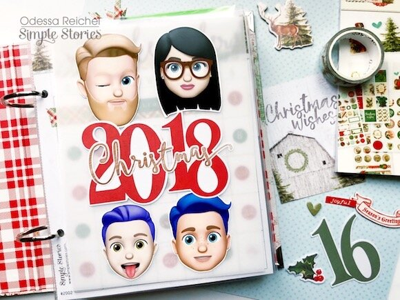 Country Christmas pages
