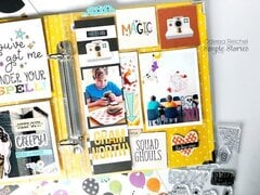 Say Cheese Halloween layout