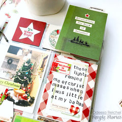 Simple Vintage Christmas Pages