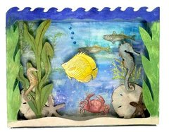 Under the Sea Shadow Box