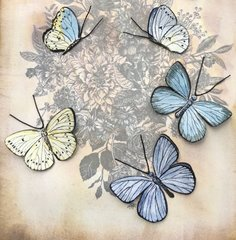 Butterfly Vintage Print