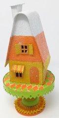 Candy Corn Putz House