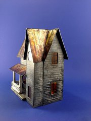 Rusted Tin Roof Halloween House