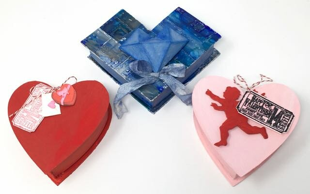 DIY Valentine Candy Boxes to make
