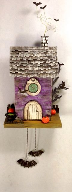 Bat Cuckoo Clock House
