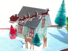 Christmas Pop-up House Card