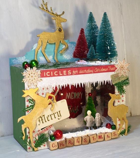 Deer Wonderland Christmas