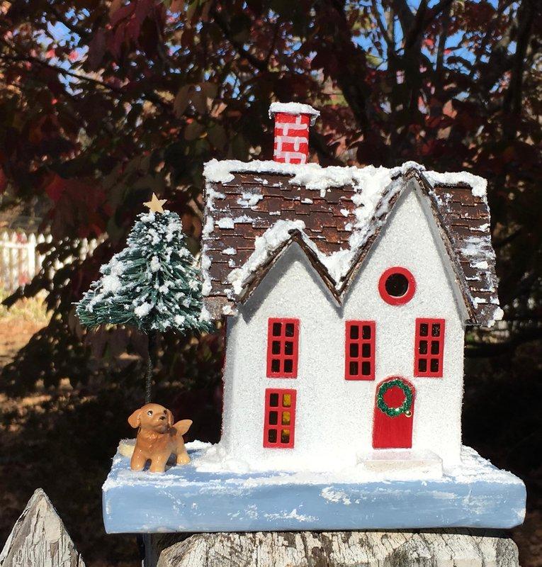 Christmas Glitter House