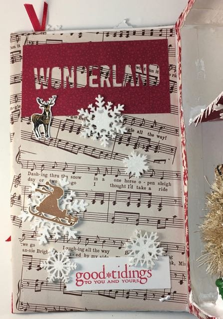 Christmas Songs Shadowbox