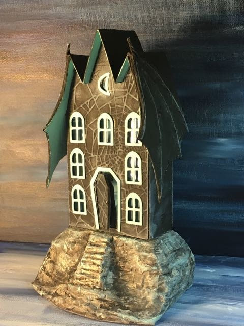 The Count Awaits - Bat Wing House