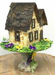 Miniature Irish Stone Cottage