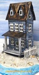 Sea-Worn Beach House - A Putz House made for the Summer