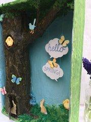 Hello Spring! Woodland Scene