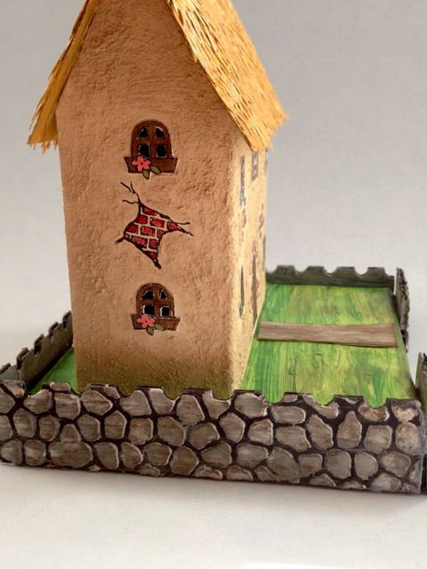 Summer Country Cardboard House