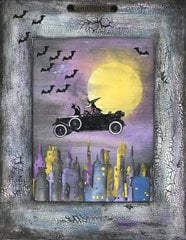The Witch Drives Again Wall Hanging