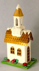 Tim Holtz Village Brownstone as a Church