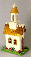 Tim Holtz Village Brownstone as a Church
