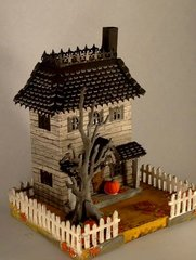 Widow's Walk House with Tim Holtz Roof Die