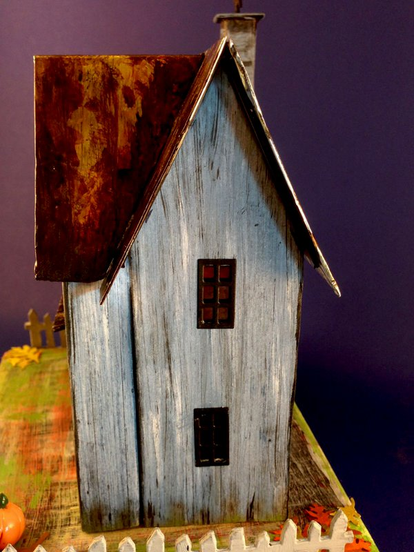 Rusted Roof Halloween House