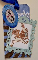 Tim Tag with Ornate Frame 2