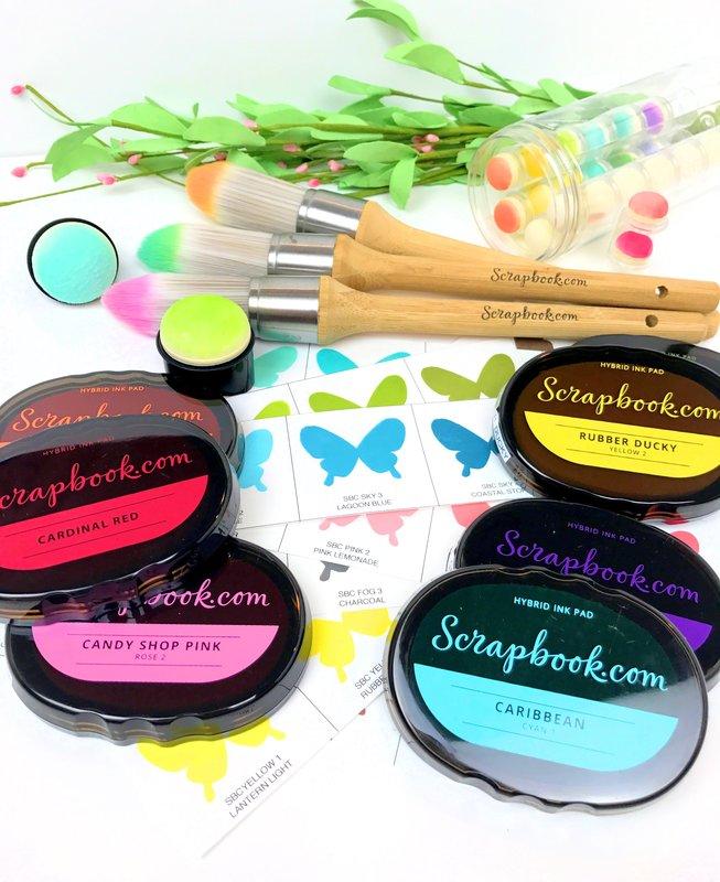 Scrapbook.com's new Hybrid Inks