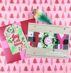 Card and Tag with North Pole Numbers for December Days
