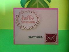 Hello Sunshine- Happy Mail