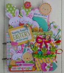 Hippity Hoppity Easter's On Its Way Mini Album Kit