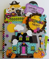 Halloween Night Mini Album Kit