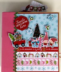 Santa Stops Here Album Kit