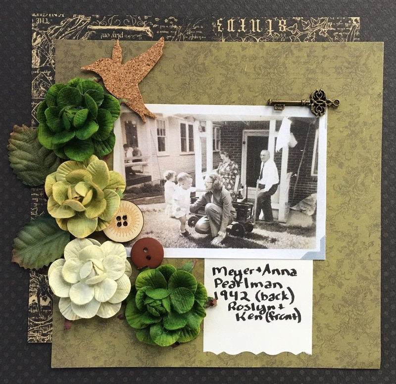Great Grandparents Pearlman