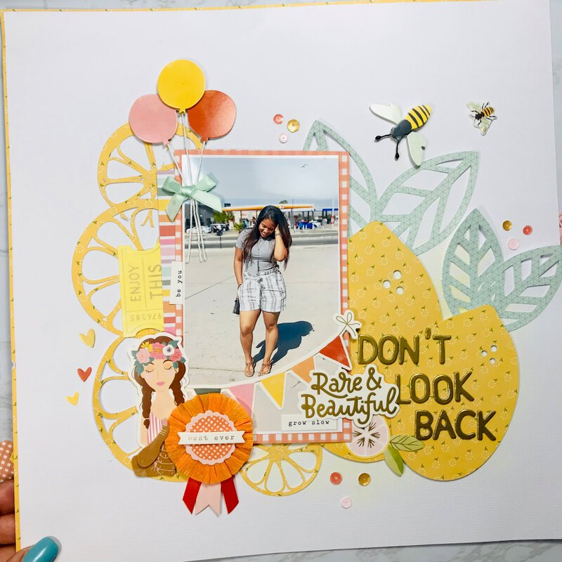 Don't Look Back|Dear Lizzy, It's all good|American Crafts