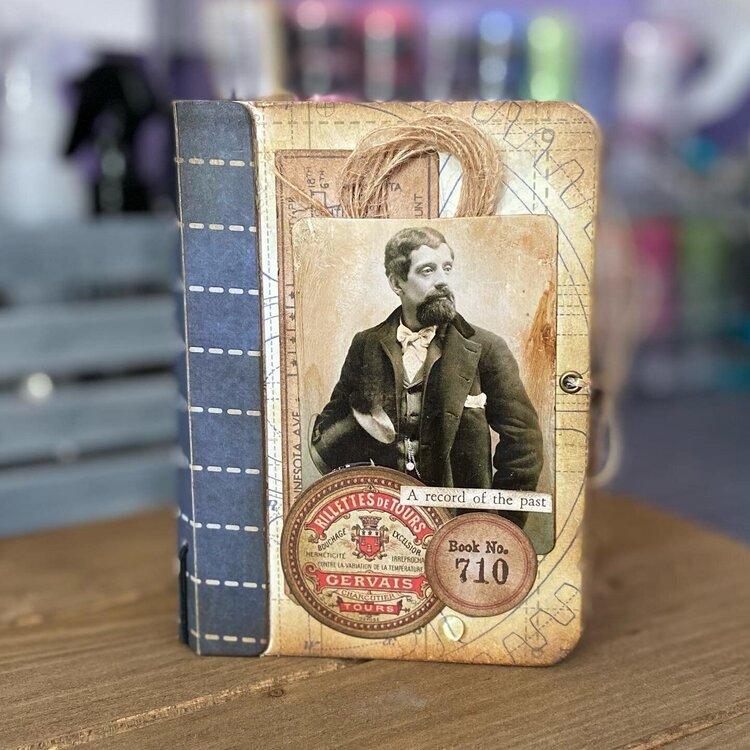 Past Memories Passport Sized Journal