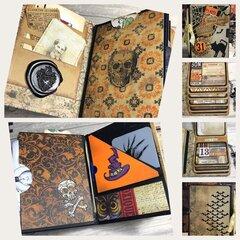 Hocus Pocus Mini Passport Journal/Scrapbook