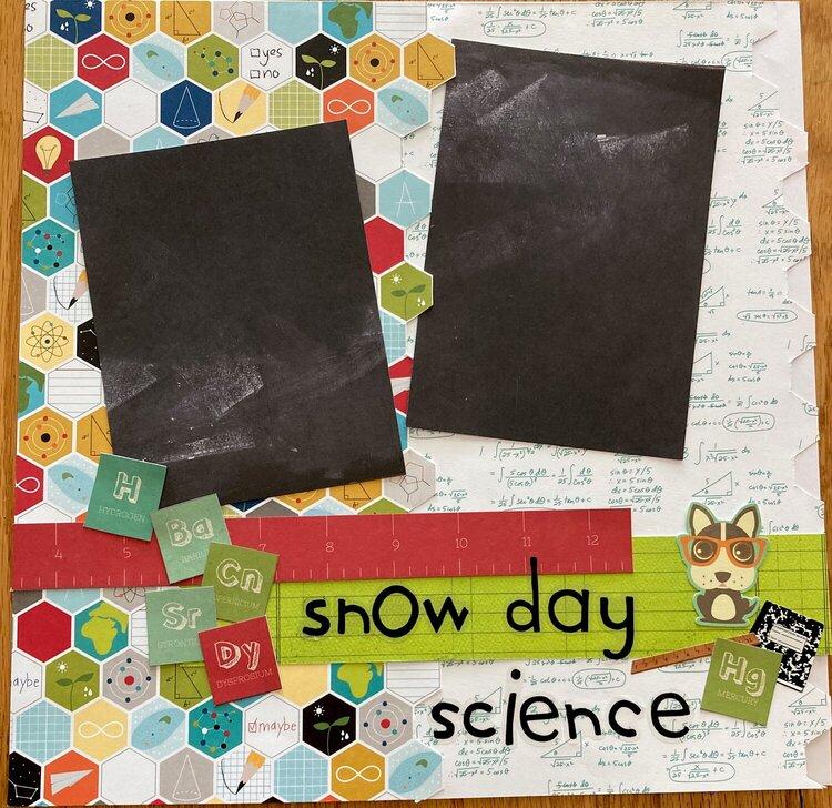 Snow Day Scoence