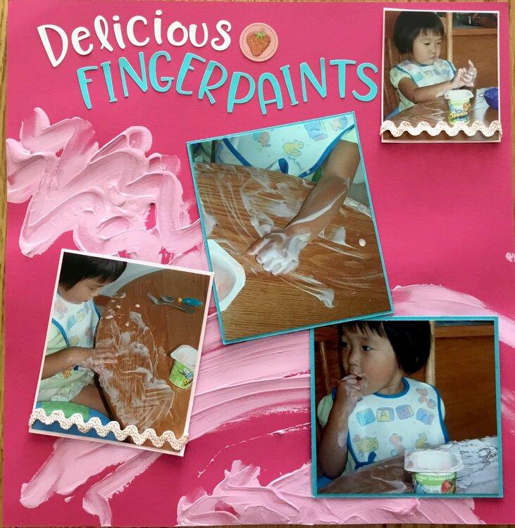 Delicious Fingerpaints