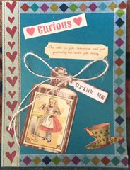 Alice in Wonderland Mother's Day Card