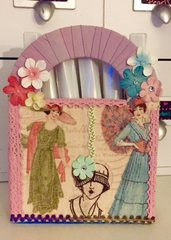 A Ladies Diary Pen Holder