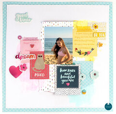 Slice Of Life Mixed Media Collage Layout