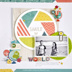 Shimelle Challenge: Maps and globes