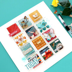 Brand New Summer Layout with Vicki Boutin Wildflower and Honey