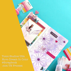 Tonic Studios USA Dream In Color at Scrapbook.com Watercolor Shimmer Powder TN  Pages