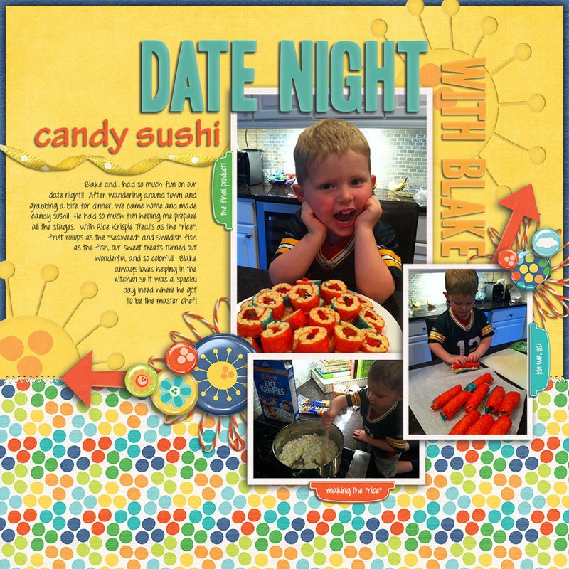Candy Sushi Date Night