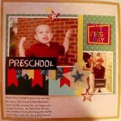 Preschool: My First Day
