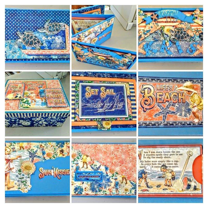 Sun-Kissed Group Card & Box