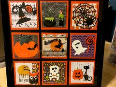 Halloween Picture with Tim Holtz Mini Dies