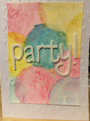 Watercolor Party