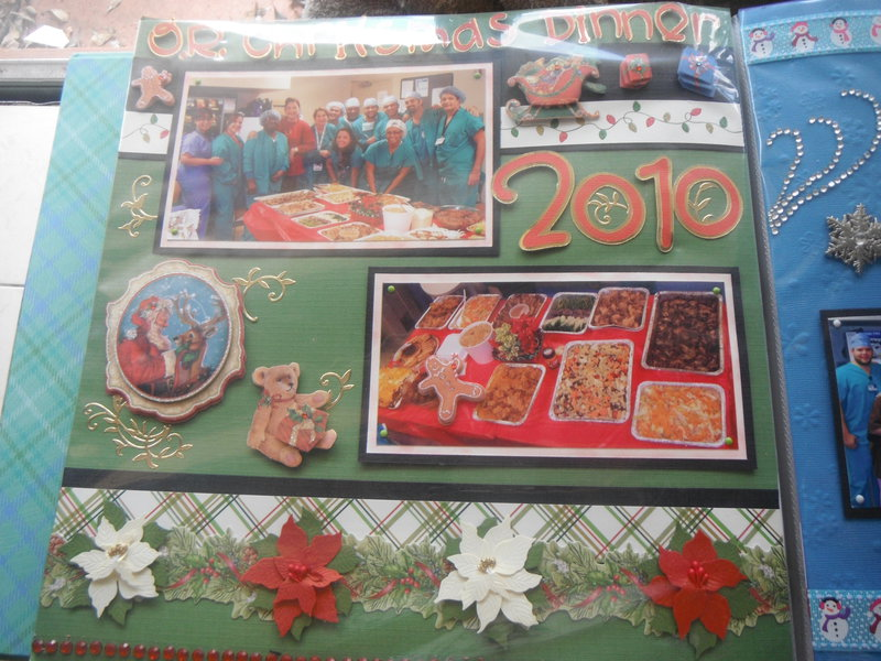 Work Christmas celebration 2010